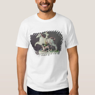 Longton Hall figure of Cupid riding a horse T-shirt