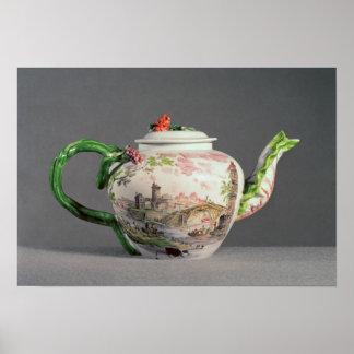 Longton Hall teapot, c.1755 Poster