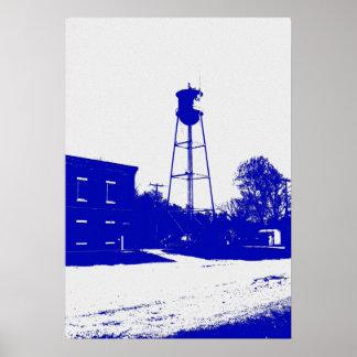 Longton, impresión de Kansas Póster