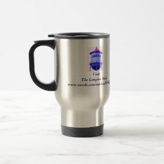 Longton---It's a state of mind! 15 Oz Stainless Steel Travel Mug