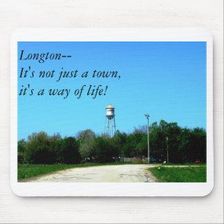 Longton--¡No es apenas una ciudad él es una maner Alfombrilla De Raton