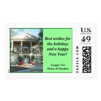 Longue Vue Holiday stamp