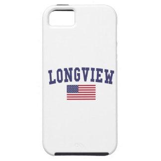 Longview TX US Flag iPhone SE/5/5s Case