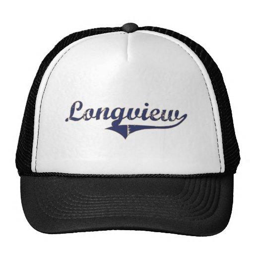 Longview Washington Classic Design Hats