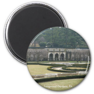 Longwood Gardens, PA 2 Inch Round Magnet