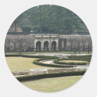 Longwood Gardens, PA Classic Round Sticker