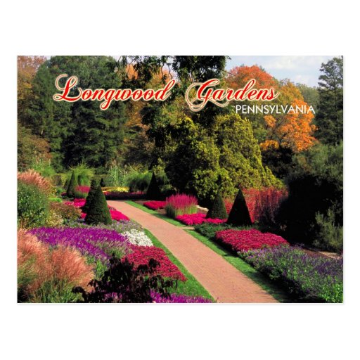 Longwood Gardens, Pennsylvania Post Cards