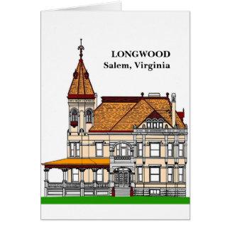 LONGWOOD - Salem, Virginia Card