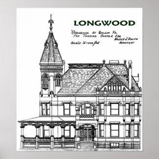 LONGWOOD - Salem, Virginia Poster
