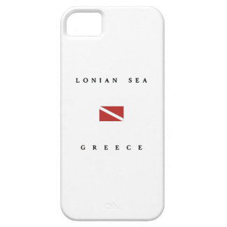 Lonian Sea Greece Scuba Dive Flag iPhone SE/5/5s Case