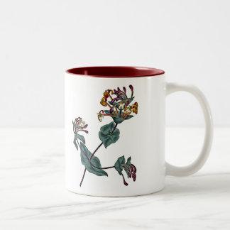 Lonicera Implexa Two-Tone Coffee Mug