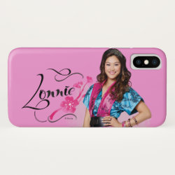 Case-Mate Barely There iPhone X Case with Descendants Lonnie Portrait design