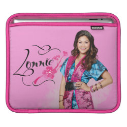 iPad Sleeve with Descendants Lonnie Portrait design