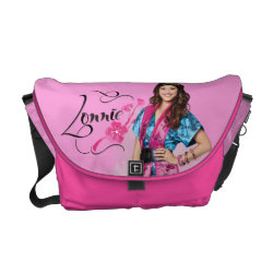 Rickshaw Medium Zero Messenger Bag with Descendants Lonnie Portrait design