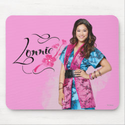 Mousepad with Descendants Lonnie Portrait design