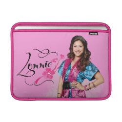 Macbook Air Sleeve with Descendants Lonnie Portrait design