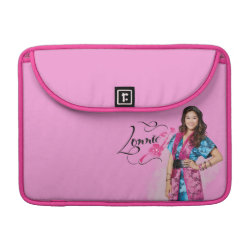 Macbook Pro 13' Flap Sleeve with Descendants Lonnie Portrait design