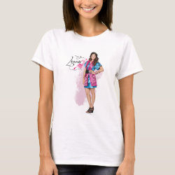Women's Basic T-Shirt with Descendants Lonnie Portrait design