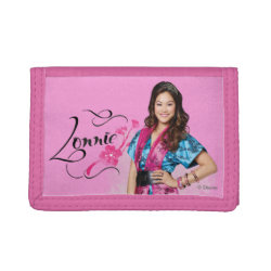 TriFold Nylon Wallet with Descendants Lonnie Portrait design