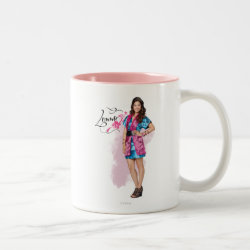 Two-Tone Mug with Descendants Lonnie Portrait design