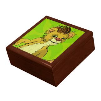 Lonny Lion Keepsake Box