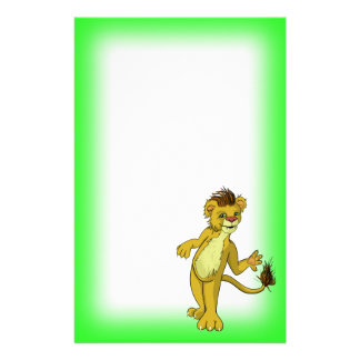 Lonny Lion Stationery