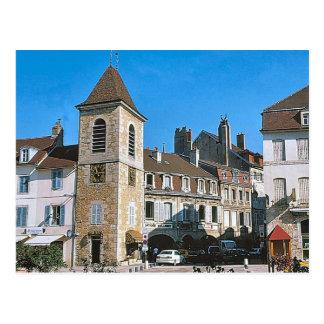 Lons le Saunier Belfroi Postcard