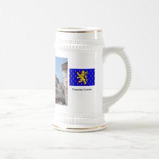 Lons le Saunier; Clocktower and arcades Mug