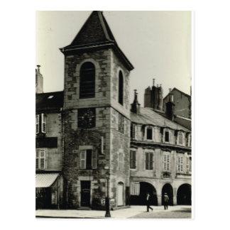 Lons le Saunier, Clocktower Postcard