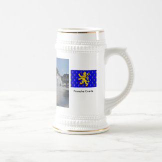 Lons le Saunier; Fountains in the square Coffee Mugs