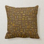 Lontara Throw Pillows