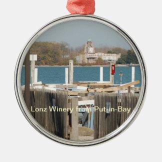 Lonz Winery Christmas ornament
