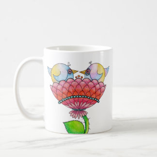 """Loobitz' Love Birds Coffee Mugs"