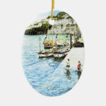 'Looe Harbour' Ornament