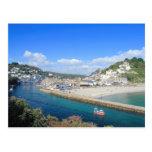 Looe in Cornwall Postcard