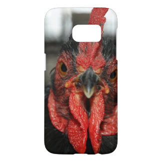 Look a Tough Red Rooster in the Eye Samsung Galaxy S7 Case