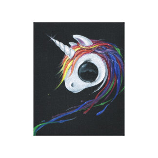 Look! A ugly one-horned mule! Stretched Canvas Prints
