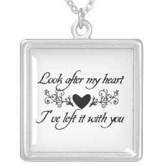 Look After My Heart Sterling Silver Necklace