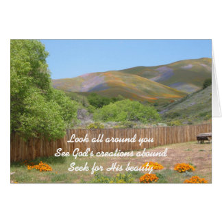 Look All Around You Greeting Card