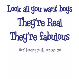 Look all you want boys shirt