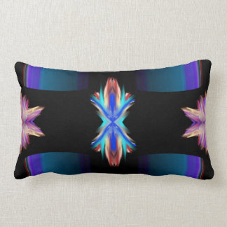 Look And Enter: Modern Art Lumbar Pillow