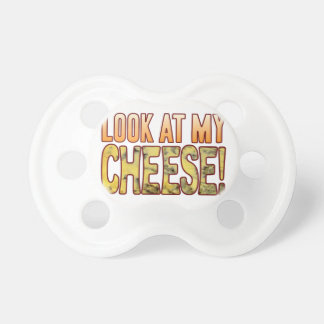 Look At Blue Cheese Pacifier