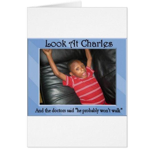 Look At Charles Card