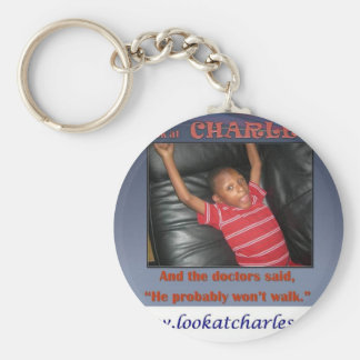 Look At Charles Keychain
