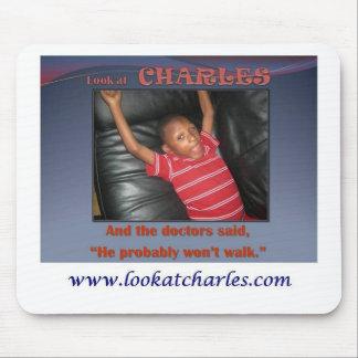 Look At Charles Mouse Pad