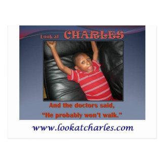 Look At Charles Post Card