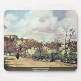 Look At Louveciennes By Pissarro Camille Mousepads