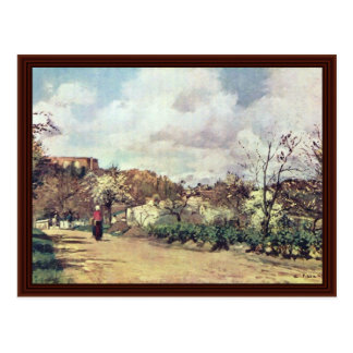 Look At Louveciennes By Pissarro Camille Postcard