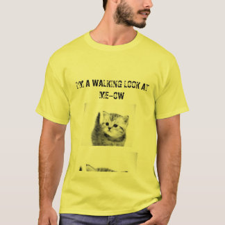 Look at Meow Cat Tshirt