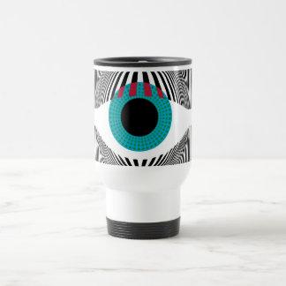 Look at my eyes coffee mug